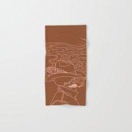 Love or Die Tryin' - Cowhand - Rust & Peach Hand & Bath Towel