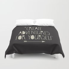 Create Adventures Duvet Cover