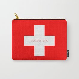 Swiss Cross - Swiss Flag Carry-All Pouch