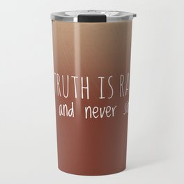 The truth Travel Mug