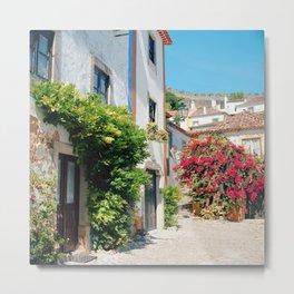 Portugal, Obidos (RR 182) Analog 6x6 odak Ektar 100 Metal Print