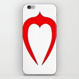 Rendered Logo Print iPhone Skin