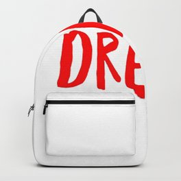 Dream in Red Backpack