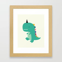 Dinocorn Framed Art Print