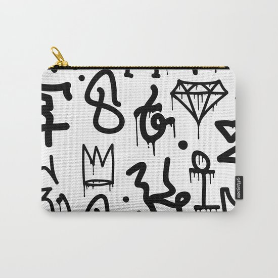 Diamonds & Crowns Carry-All Pouch
