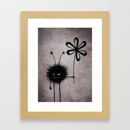 Evil Flower Bug Framed Art Print