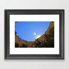 Lonely Cloud  Framed Art Print