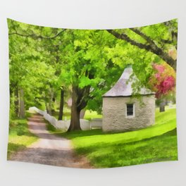 Spring Buttery Wall Tapestry