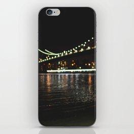 Manhattan Bridge Lights iPhone Skin