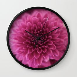Pinks Wall Clock