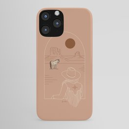 Lost Pony - Pink Clay iPhone Case