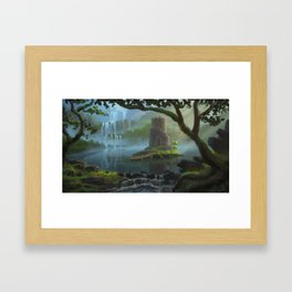 Lake Keep Framed Art Print