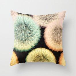 Dandelion Wishes Throw Pillow