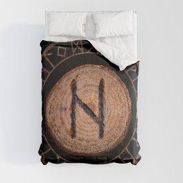 Hagalaz - Elder Futhark rune Comforters