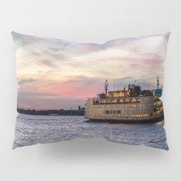 Red Sky Ferry Pillow Sham