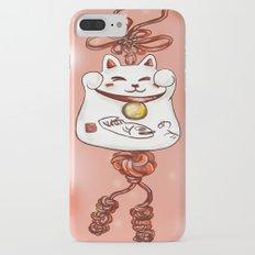 Lucky Cat iPhone 7 Plus Slim Case
