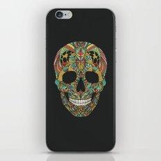 Ethno skull iPhone & iPod Skin