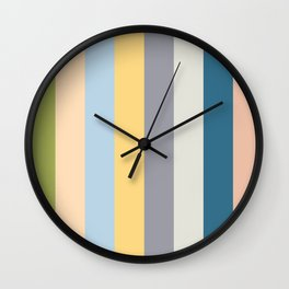 Color palette I Wall Clock
