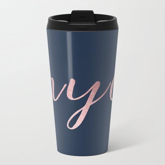 nyc shine Metal Travel Mug