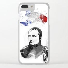 Napoleon Bonaparte Clear iPhone Case