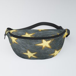 Glittering Stars Fanny Pack