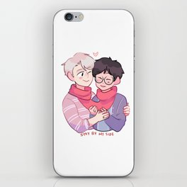 victuuri: stay by my side iPhone Skin