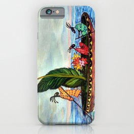 Magic Travel iPhone Case