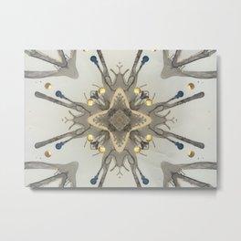 Bursting Metal Print