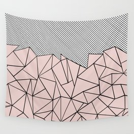 Ab Lines 45 Dogwood Wall Tapestry