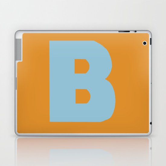 Blue B Laptop & iPad Skin