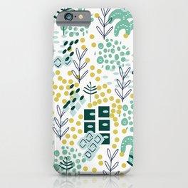 Landscape in Teal iPhone Case