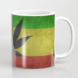 Marijuana Legalization Rasta Flag Cannabis Leaf Coffee Mug