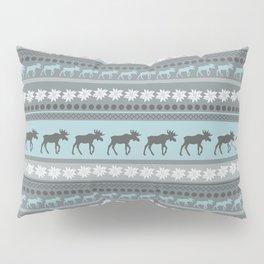 Moose Pattern Pillow Sham