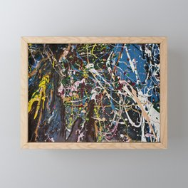 Abstract Framed Mini Art Print