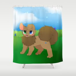 Chromia Shower Curtain