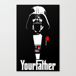 YourFather Canvas Print