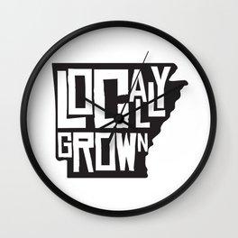 Locally Grown Wall Clock