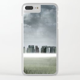 Mystic Stones Clear iPhone Case