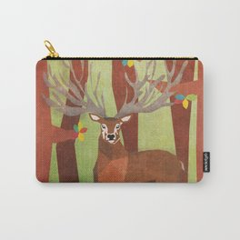 Majestic Stag in Forest Carry-All Pouch