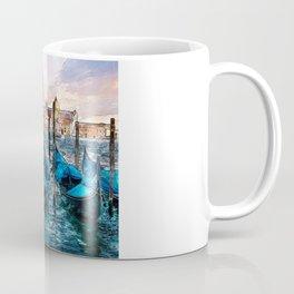 Gondolas in Venice Coffee Mug
