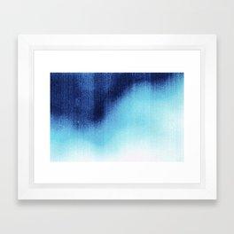 BLUR / frost Framed Art Print