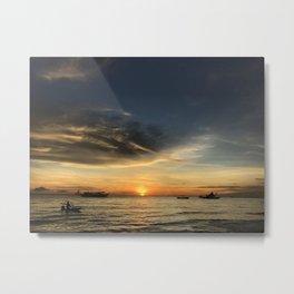 Boracay Sunset Metal Print