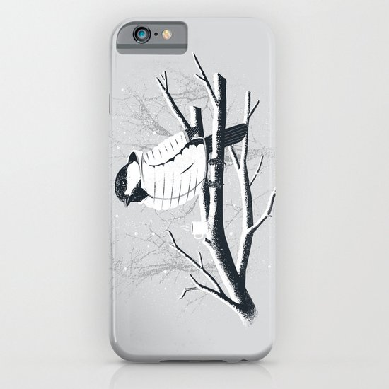 North For The Winter (Gray). iPhone & iPod Case