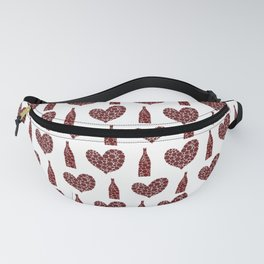 Wine Lover Pattern Fanny Pack