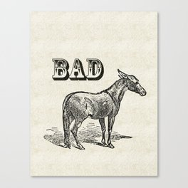 Bad Ass Canvas Print