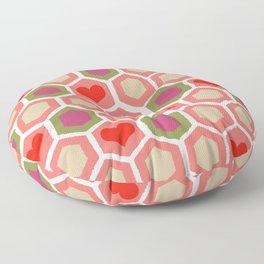 Heart Pattern 1 Floor Pillow