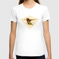 android T-shirts featuring android hummingbird by Kingu Omega