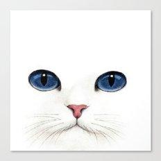 Cat face. Canvas Print