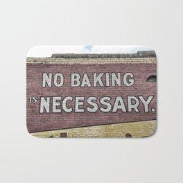 No Bake Bath Mat