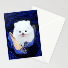 Blue Manolos Stationery Cards